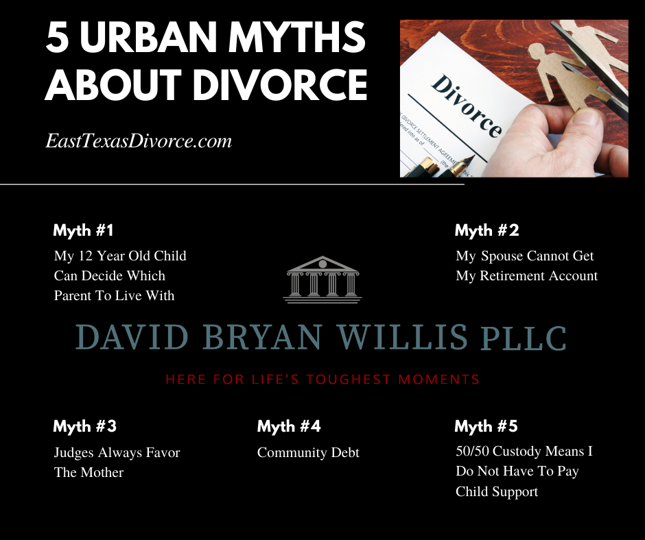 5 Urban Myths About Divorce