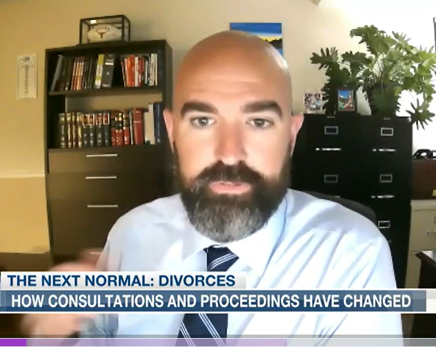 Bryan Interviewed By Local News About Divorce Post-COVID